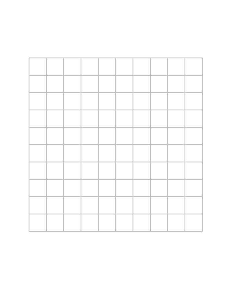 Numbered Graph Paper Have graph paper handy.